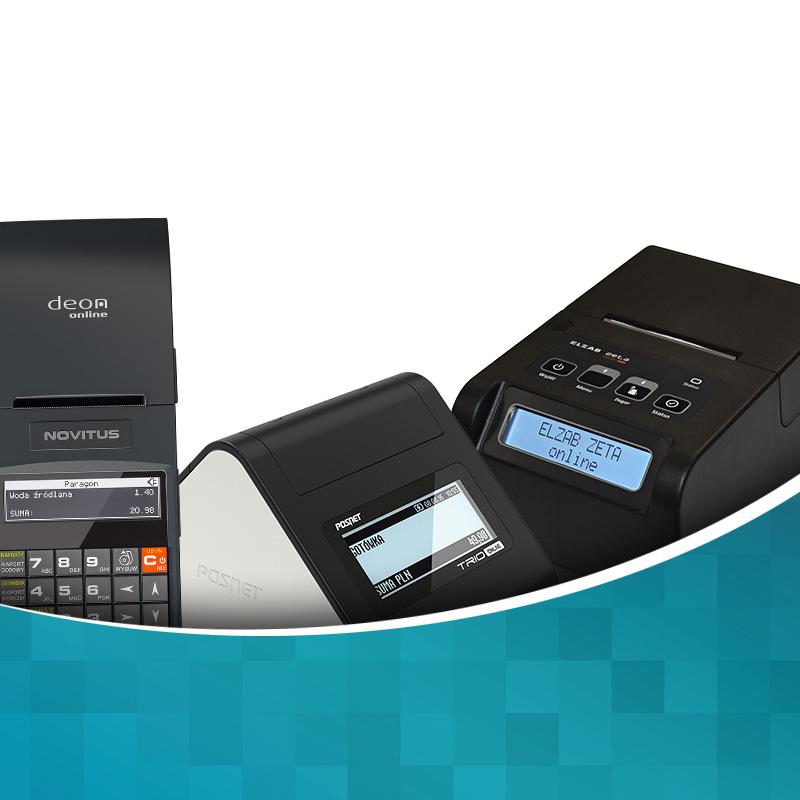 Drukarki fiskalne online - Posnet, Elzab, Novitus