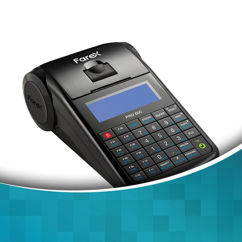 Online'owa kasa fiskalna Farex Pro 600